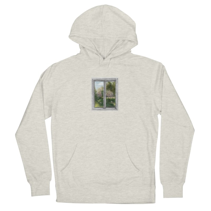 win view - spring Men's Pullover Hoody by ellagershon's Artist Shop
