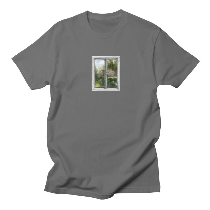 win view - spring Men's Regular T-Shirt by ellagershon's Artist Shop