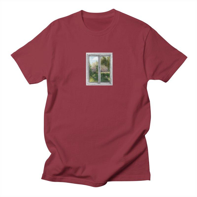 win view - spring Men's T-Shirt by ellagershon's Artist Shop