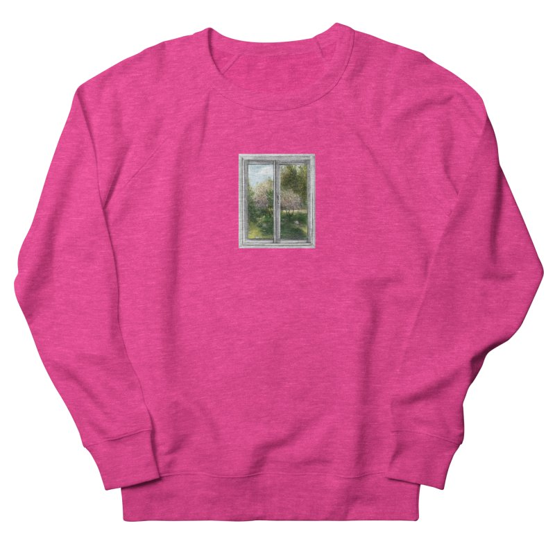 win view - spring Women's French Terry Sweatshirt by ellagershon's Artist Shop