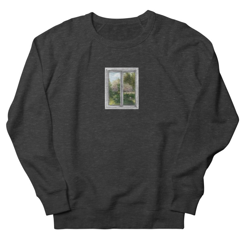win view - spring Men's French Terry Sweatshirt by ellagershon's Artist Shop