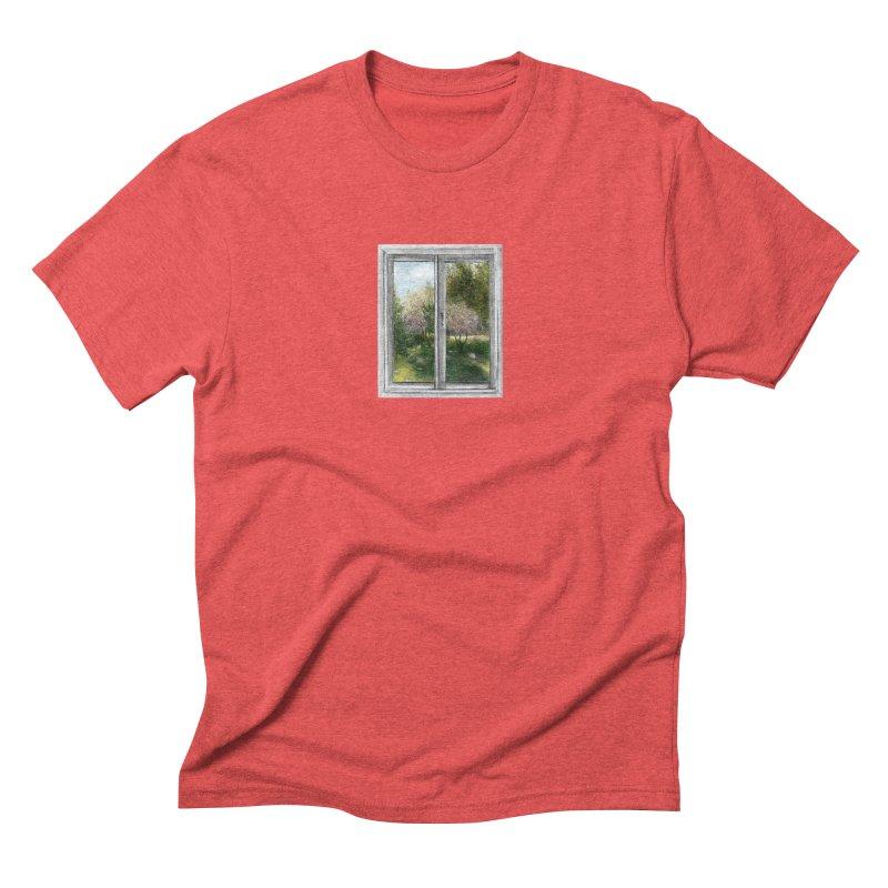 win view - spring Men's Triblend T-Shirt by ellagershon's Artist Shop