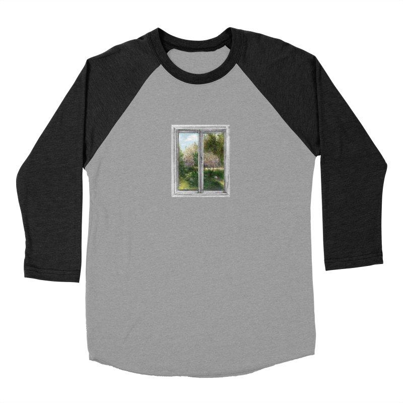 win view - spring Women's Baseball Triblend T-Shirt by ellagershon's Artist Shop