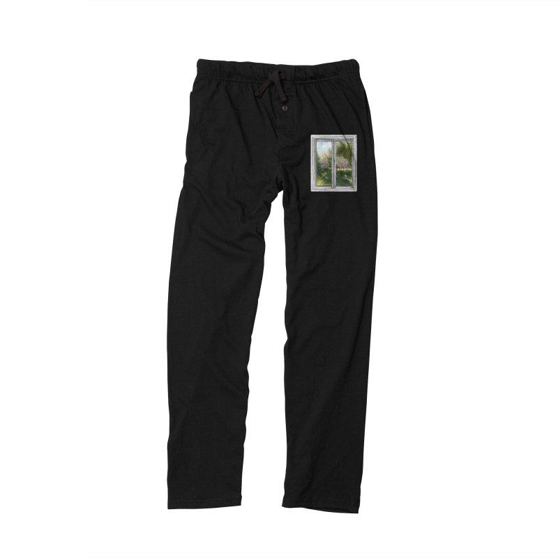 win view - spring Men's Lounge Pants by ellagershon's Artist Shop