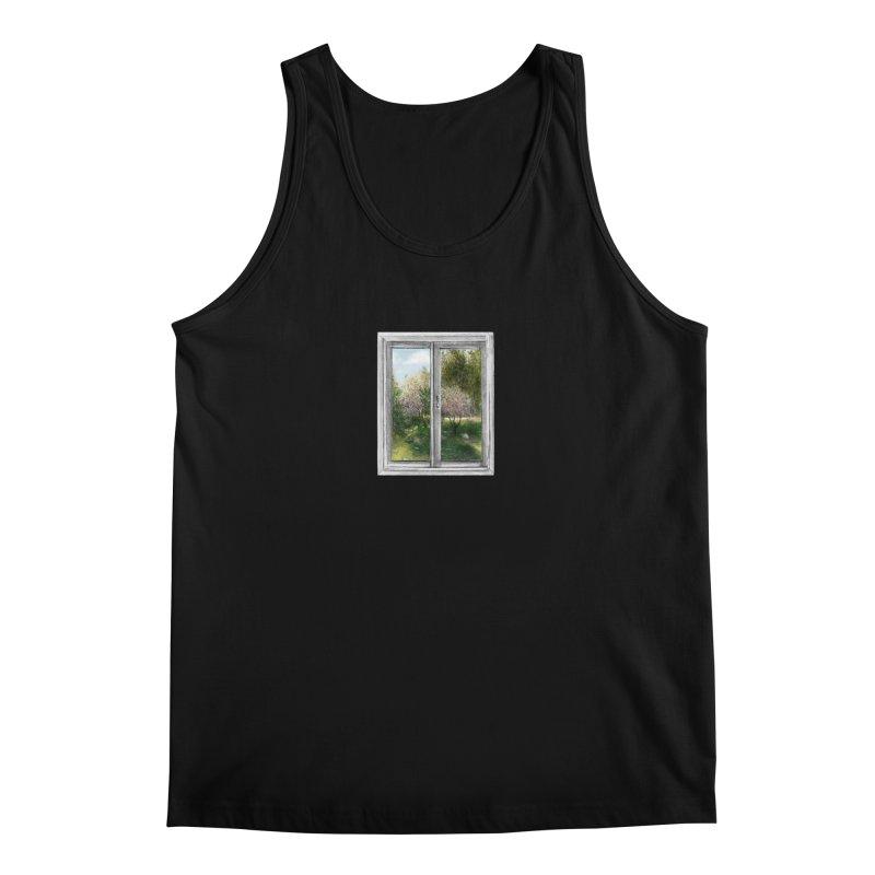 win view - spring Men's Tank by ellagershon's Artist Shop