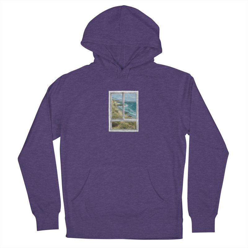 win view - sea Women's Pullover Hoody by ellagershon's Artist Shop