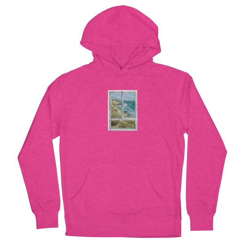 win view - sea Men's Pullover Hoody by ellagershon's Artist Shop