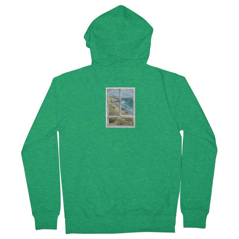 win view - sea Women's Zip-Up Hoody by ellagershon's Artist Shop