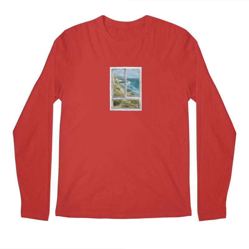 win view - sea Men's Longsleeve T-Shirt by ellagershon's Artist Shop