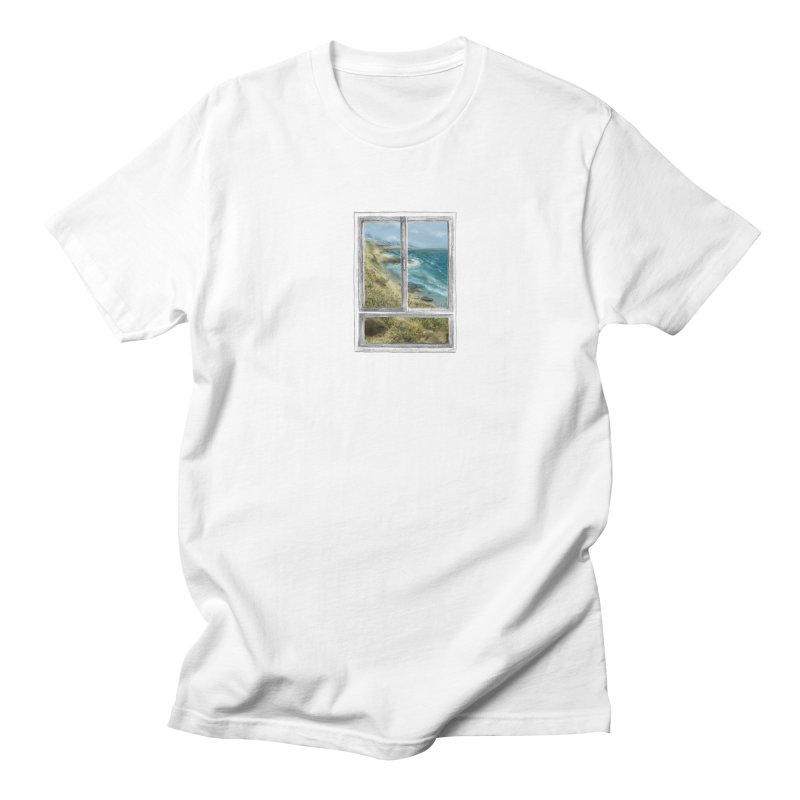 win view - sea Men's T-Shirt by ellagershon's Artist Shop