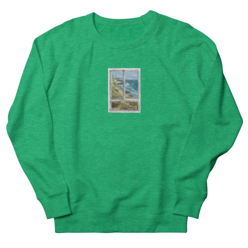win view - sea Women's Sweatshirt by ellagershon's Artist Shop