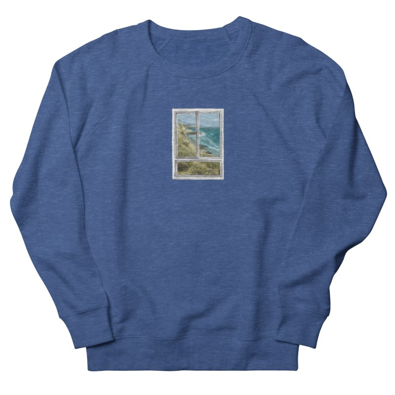 win view - sea Women's French Terry Sweatshirt by ellagershon's Artist Shop