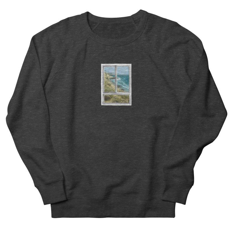 win view - sea Men's French Terry Sweatshirt by ellagershon's Artist Shop