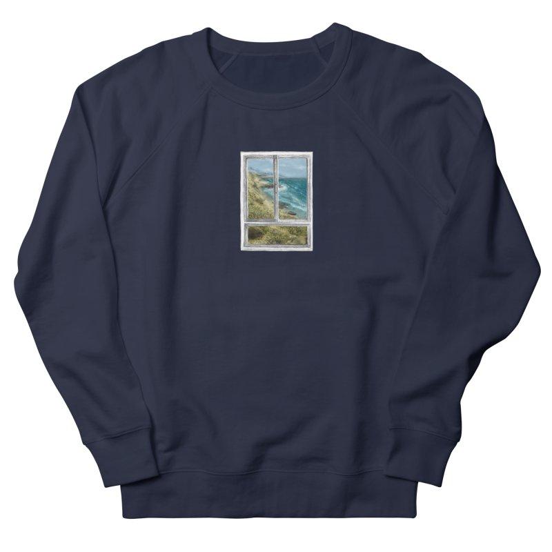 win view - sea Men's Sweatshirt by ellagershon's Artist Shop