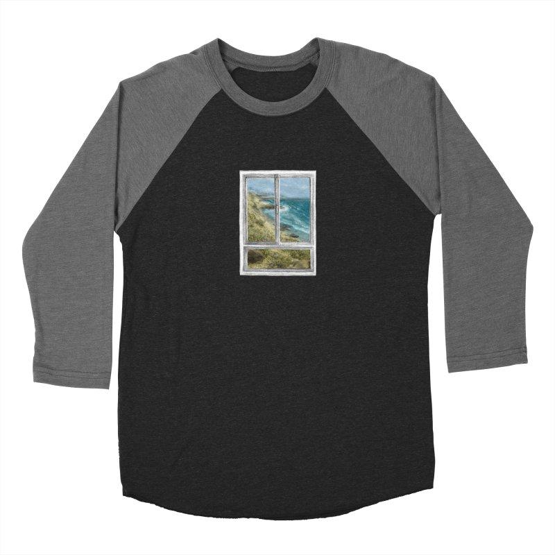 win view - sea Women's Baseball Triblend Longsleeve T-Shirt by ellagershon's Artist Shop