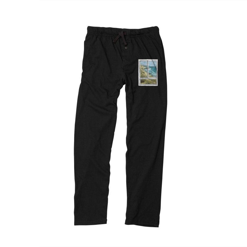 win view - sea Men's Lounge Pants by ellagershon's Artist Shop