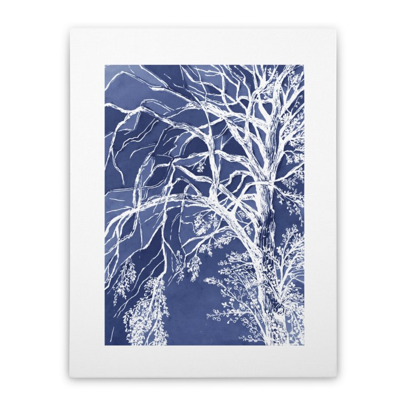 tree Fragments Home Stretched Canvas by ellagershon's Artist Shop