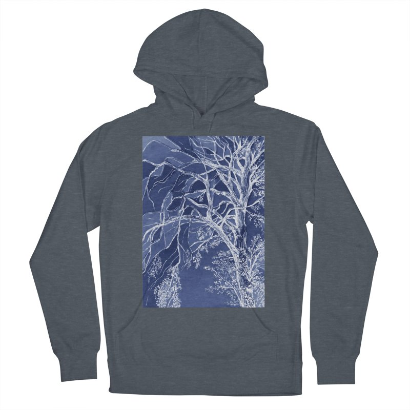 tree Fragments Women's French Terry Pullover Hoody by ellagershon's Artist Shop