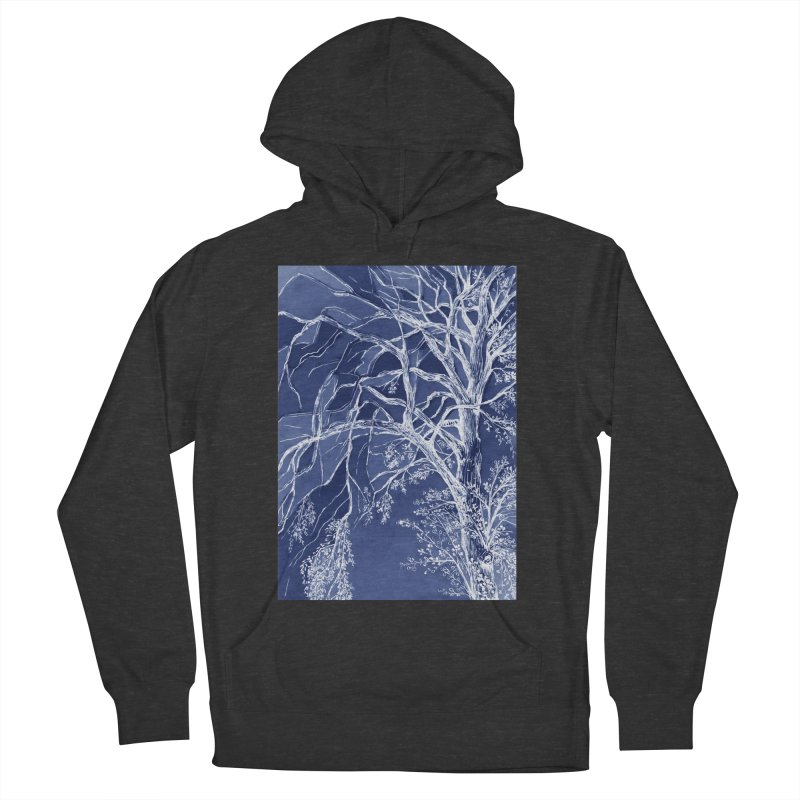 tree Fragments Men's French Terry Pullover Hoody by ellagershon's Artist Shop