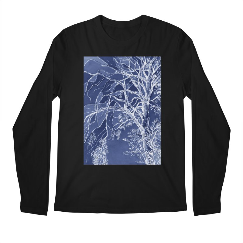 tree Fragments Men's Longsleeve T-Shirt by ellagershon's Artist Shop