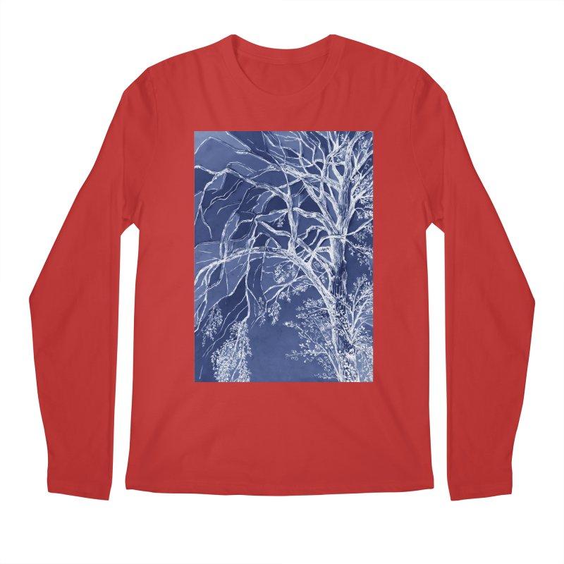 tree Fragments Men's Regular Longsleeve T-Shirt by ellagershon's Artist Shop