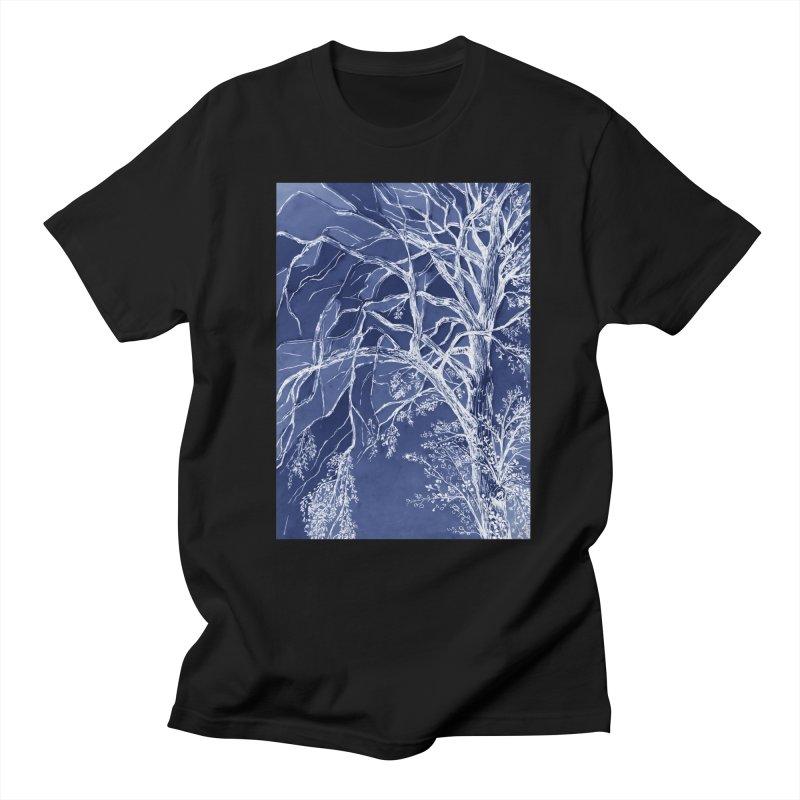 tree Fragments Men's T-Shirt by ellagershon's Artist Shop