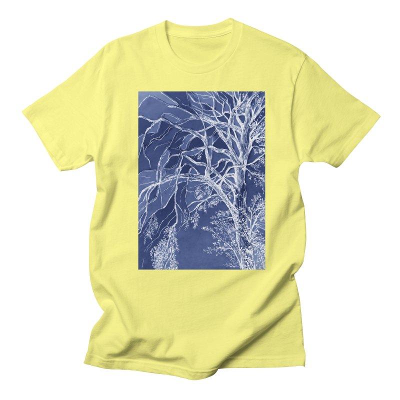 tree Fragments Men's Regular T-Shirt by ellagershon's Artist Shop