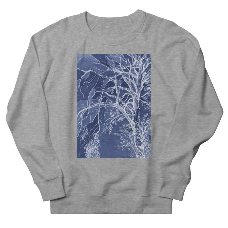 tree Fragments Women's French Terry Sweatshirt by ellagershon's Artist Shop
