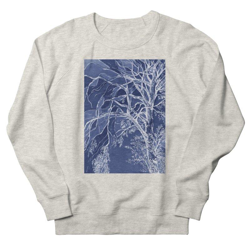 tree Fragments Men's French Terry Sweatshirt by ellagershon's Artist Shop