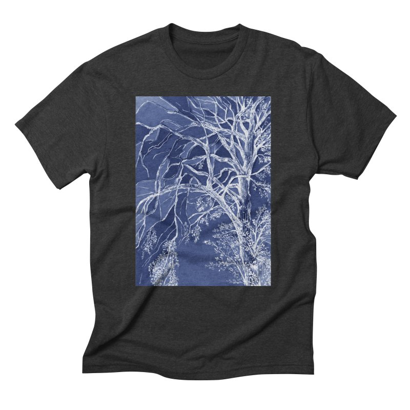 tree Fragments Men's Triblend T-Shirt by ellagershon's Artist Shop