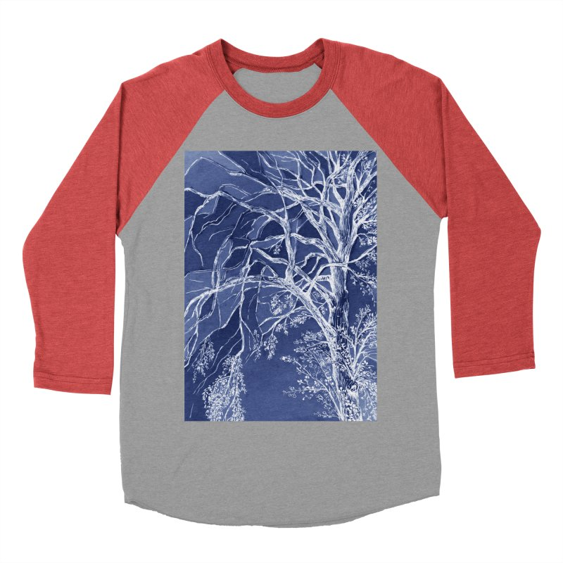 tree Fragments Women's Baseball Triblend T-Shirt by ellagershon's Artist Shop