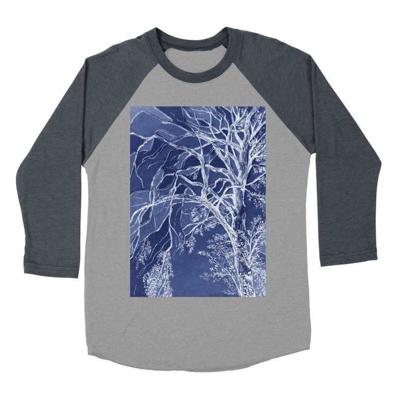 tree Fragments Men's Baseball Triblend T-Shirt by ellagershon's Artist Shop