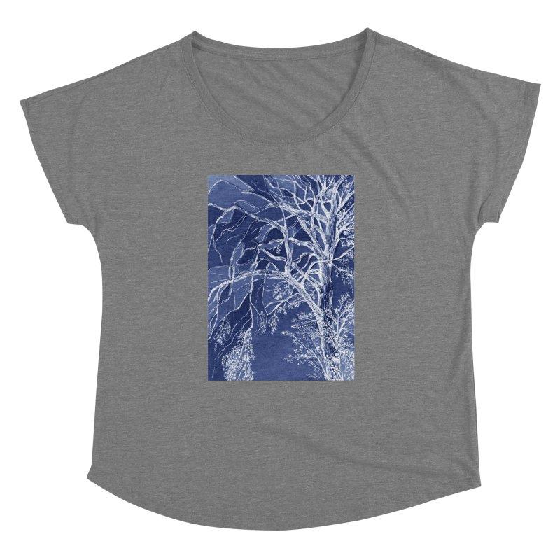 tree Fragments Women's Dolman Scoop Neck by ellagershon's Artist Shop