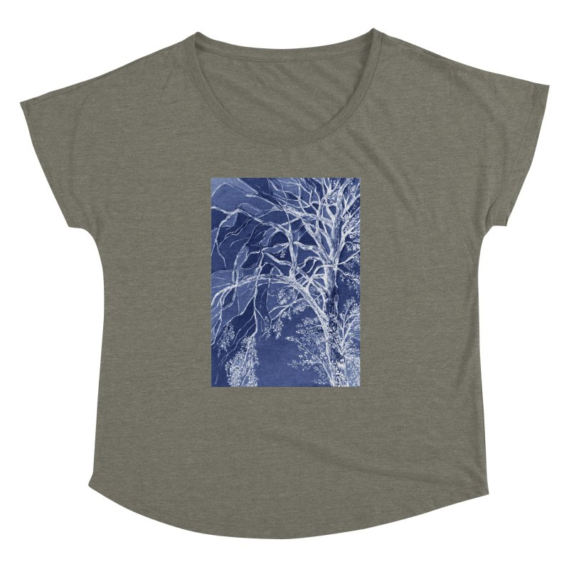 tree Fragments Women's Dolman by ellagershon's Artist Shop