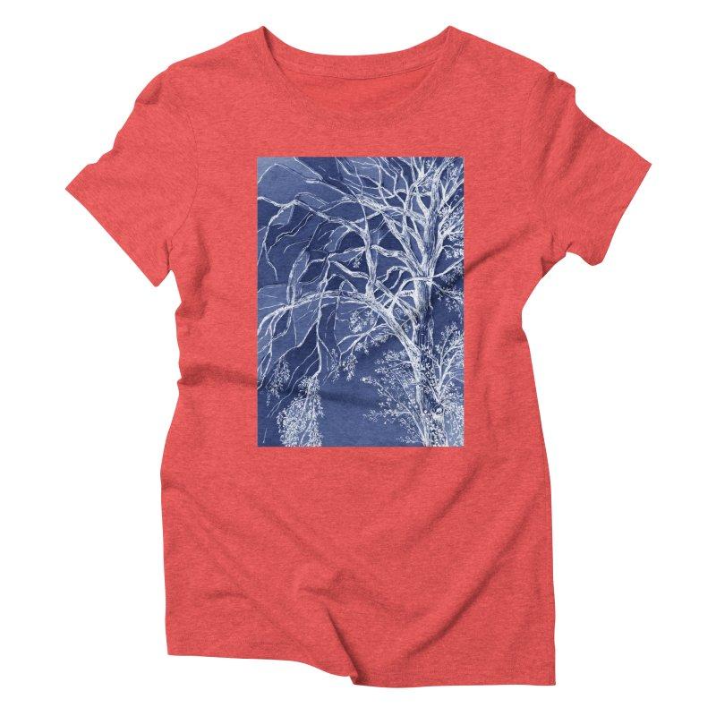 tree Fragments Women's Triblend T-Shirt by ellagershon's Artist Shop