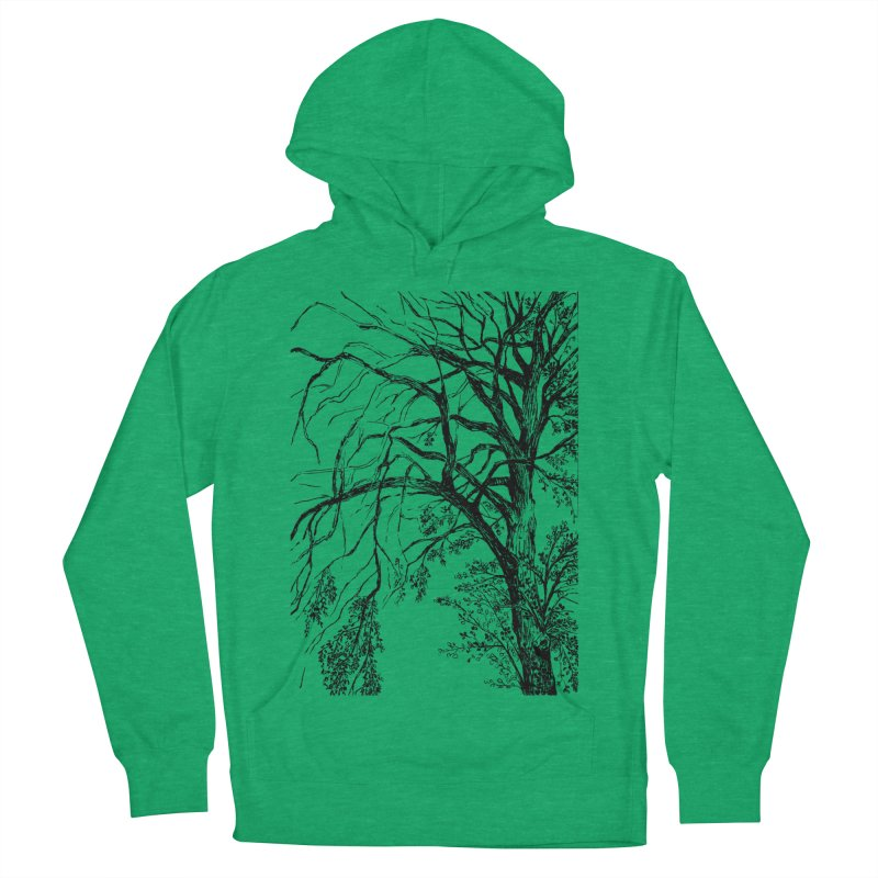 tree Women's French Terry Pullover Hoody by ellagershon's Artist Shop