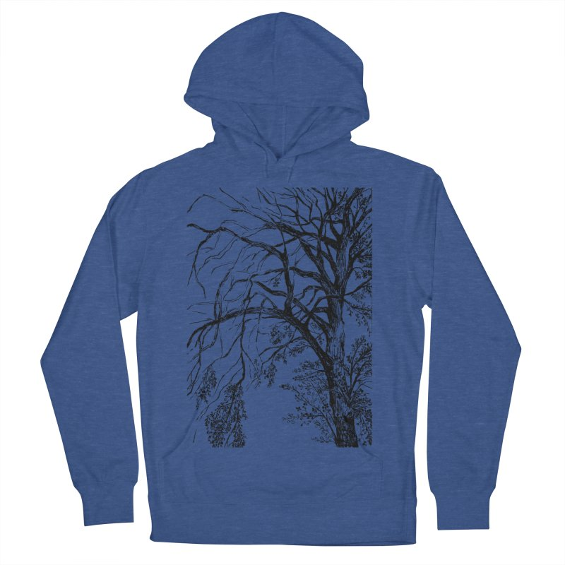 tree Men's French Terry Pullover Hoody by ellagershon's Artist Shop