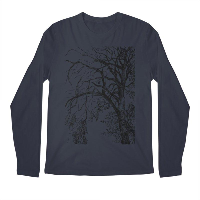 tree Men's Regular Longsleeve T-Shirt by ellagershon's Artist Shop