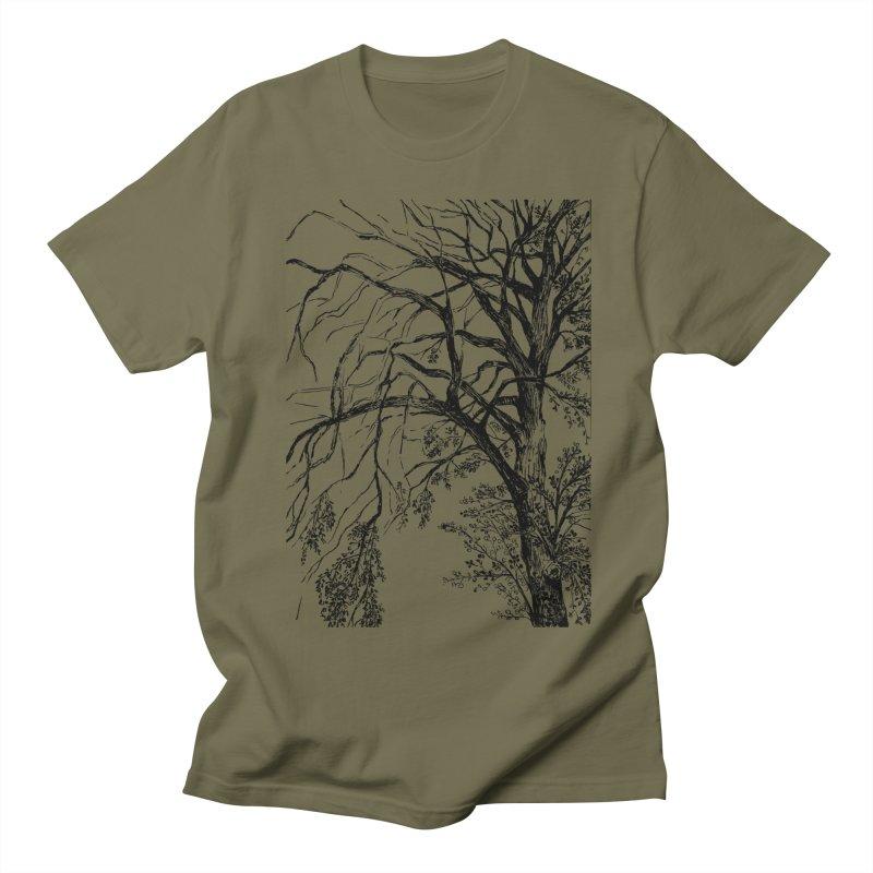 tree Men's T-Shirt by ellagershon's Artist Shop