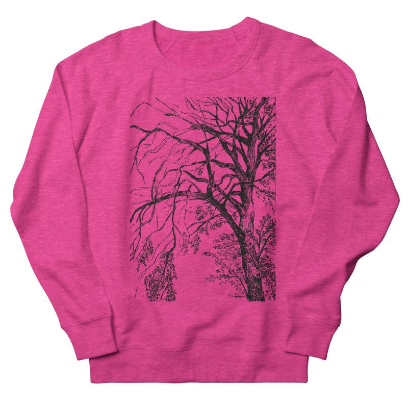 tree Women's French Terry Sweatshirt by ellagershon's Artist Shop