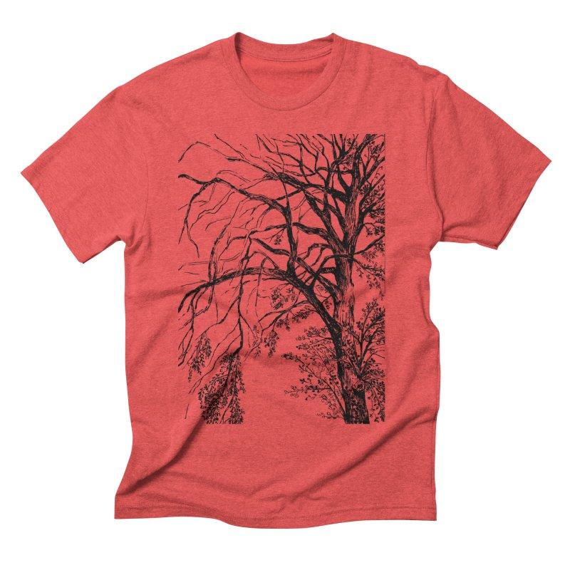 tree Men's Triblend T-Shirt by ellagershon's Artist Shop