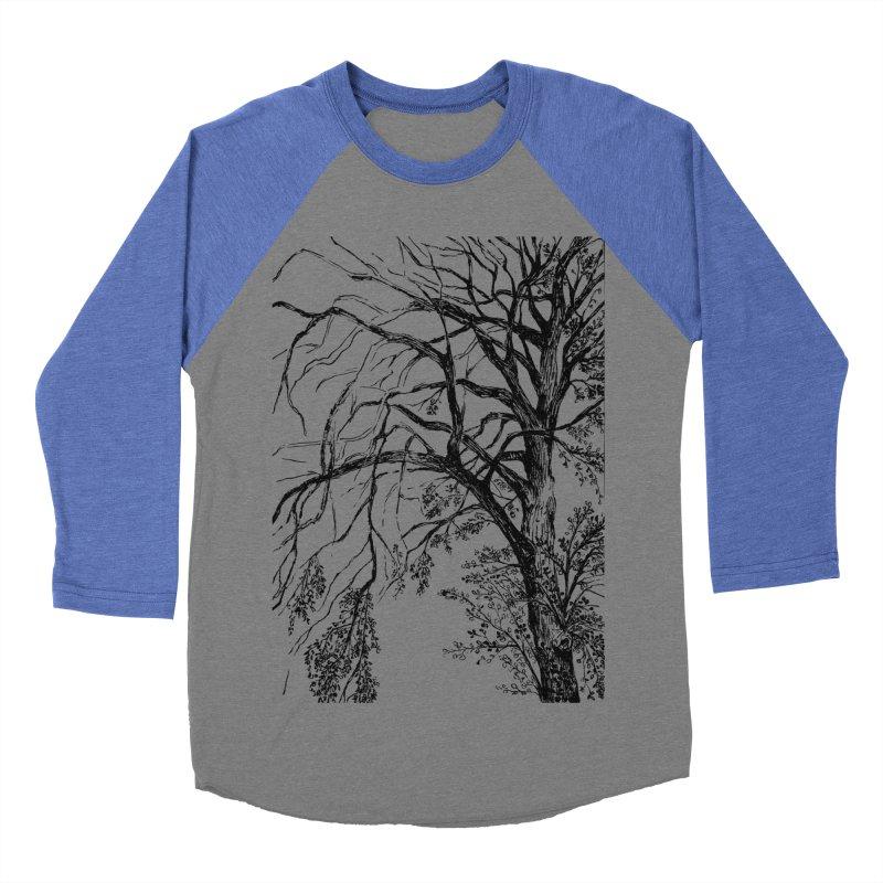 tree Men's Baseball Triblend T-Shirt by ellagershon's Artist Shop