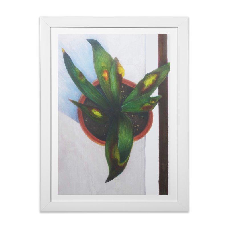 plant pot 3 Home Framed Fine Art Print by ellagershon's Artist Shop