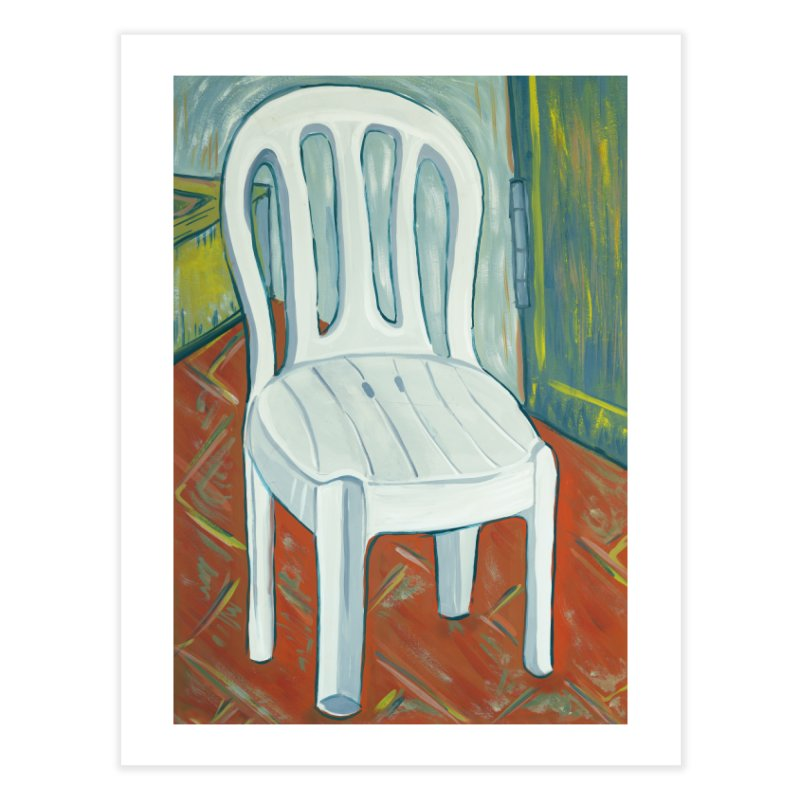 chair  Home Fine Art Print by ellagershon's Artist Shop