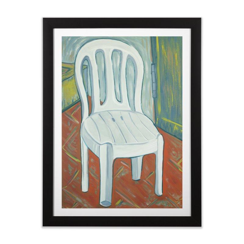 chair  Home Framed Fine Art Print by ellagershon's Artist Shop