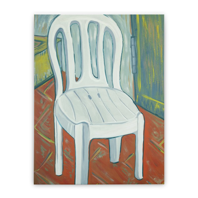 chair  Home Stretched Canvas by ellagershon's Artist Shop