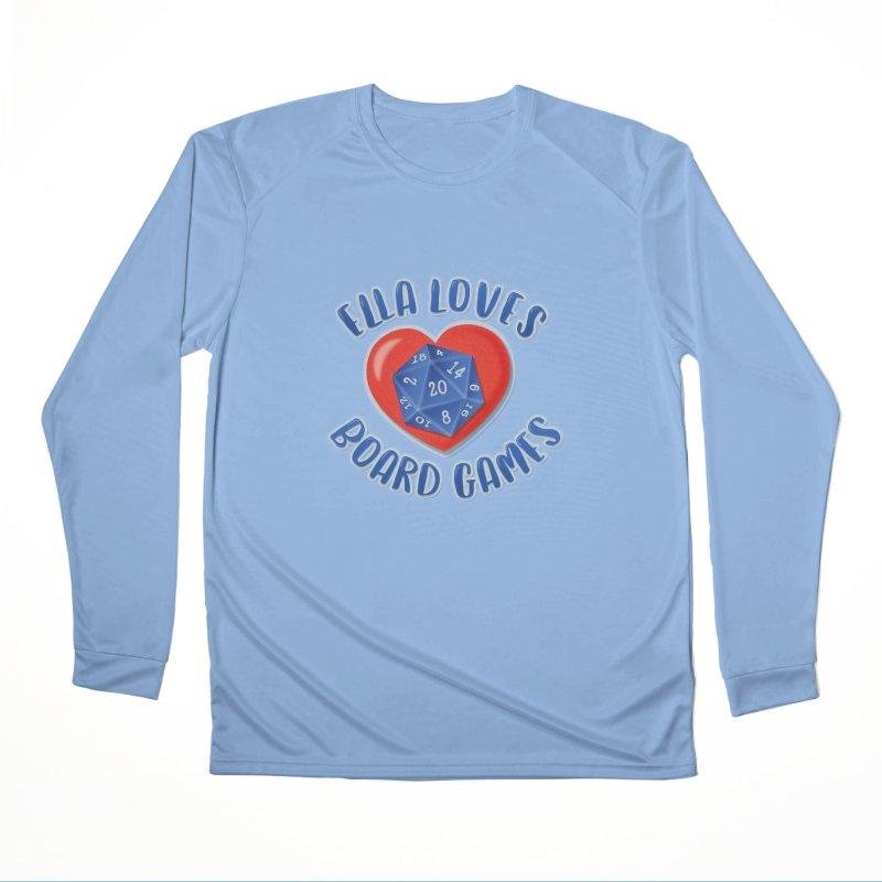 Ella Loves Boardgames Women's Longsleeve T-Shirt by ELLA LOVES BOARDGAMES