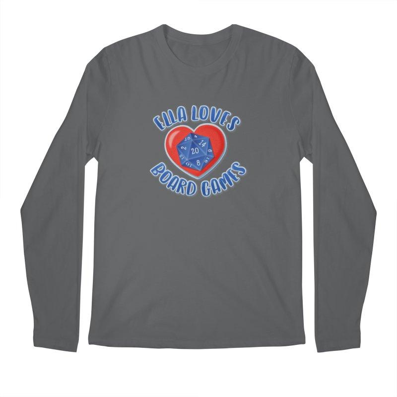 Ella Loves Boardgames Men's Longsleeve T-Shirt by ELLA LOVES BOARDGAMES