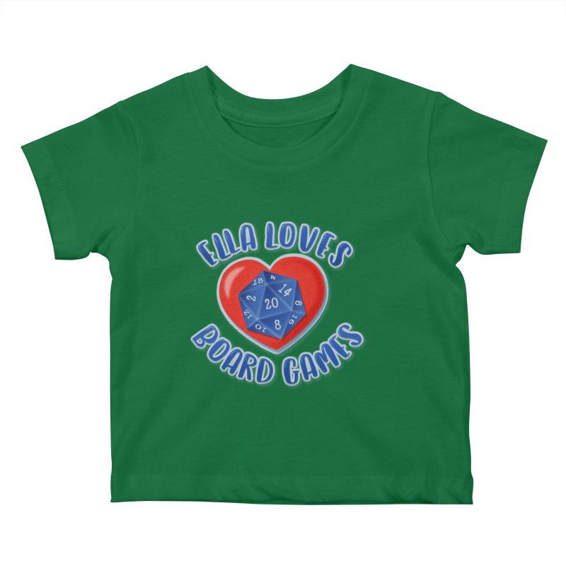 Ella Loves Boardgames Kids Baby T-Shirt by ELLA LOVES BOARDGAMES