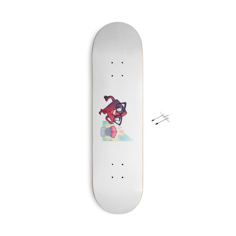 Dice Tower - Tadah! Accessories Skateboard by ELLA LOVES BOARDGAMES